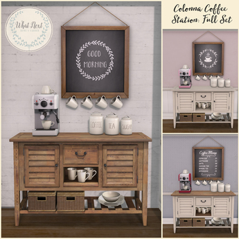 {what next} Colonna Coffee Station - Full Set
