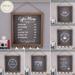 {what next} Colonna Chalkboard