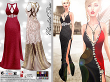 [Vips Creations] - Female Outfit - [Elizabeth Gown] - Female Gown Dress - Female Dress