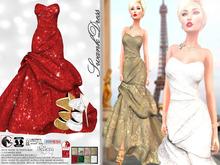 [Vips Creations] - Female Outfit - [Swank][Hud8] - Female Dress - Gown Dress - Wedding dress