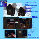Ice fishing for 2 with props and animations