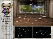 [PR] Ground Light Roses & Petals - Blue (Boxed)