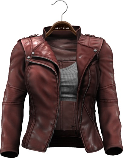 !APHORISM! Easy Rider Jacket Chestnut - Women