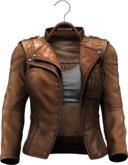 !APHORISM! Easy Rider Jacket Tan - Women