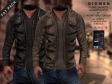 G I O M E N - Flight Jacket w/Undershirt [FAT PACK]
