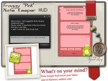 -W-FroggyPink-Note Keeper Hud(mod/copy)-Package
