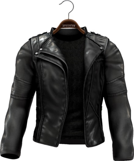 !APHORISM! Easy Rider Jacket Black - Men