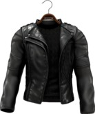 !APHORISM! Easy Rider Jacket Black - Men