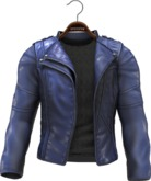 !APHORISM! Easy Rider Jacket Blue - Men