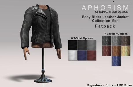 !APHORISM! Easy Rider Jacket Fatpack - Men