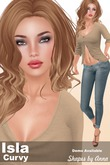 Isla Curvy Shape by Anna for Classic Avatars
