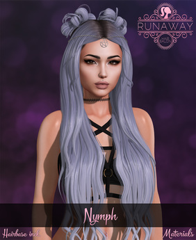[RA] Nymph Hair - Grayscale