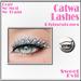 Sweet evil   catwa lashes rhinestone