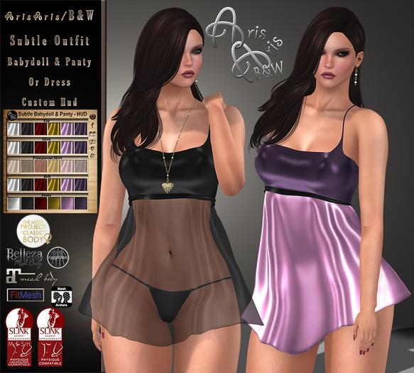 ***Arisaris/B&W~ Subtle Outfit