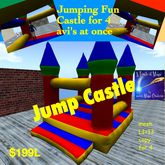 Fun Jump castle for 4 (crate)
