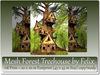 Mesh Forest TreeHouse 118 Prim=20x20m Footprint (45x45m Size)