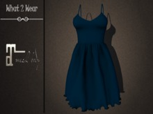 .::What2Wear::. Dress-Bella Blue- Maitreya