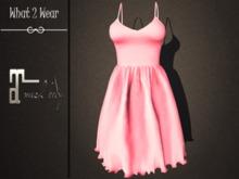 .::What2Wear::. Dress-Bella Pink- Maitreya