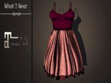 .::What2Wear::. Dress-Bella Purple 2- Maitreya