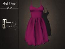.::What2Wear::. Dress-Bella Purple- Maitreya