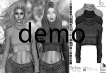 Bens Boutique - Berrak Crop Sweater - Hud Driven Demo