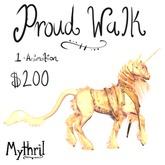 ~Mythril~ Teegle Animation: Proud Walk