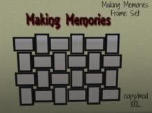 Making Memories Wall Set