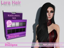Lara Hair With Hud Black & Whites