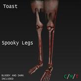 Toast - Spooky legs