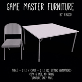 Fiasco - Game Master Furniture