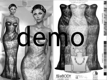 Bens Boutique - Kayla Gown & Jewelery Set - Hud Driven Demo