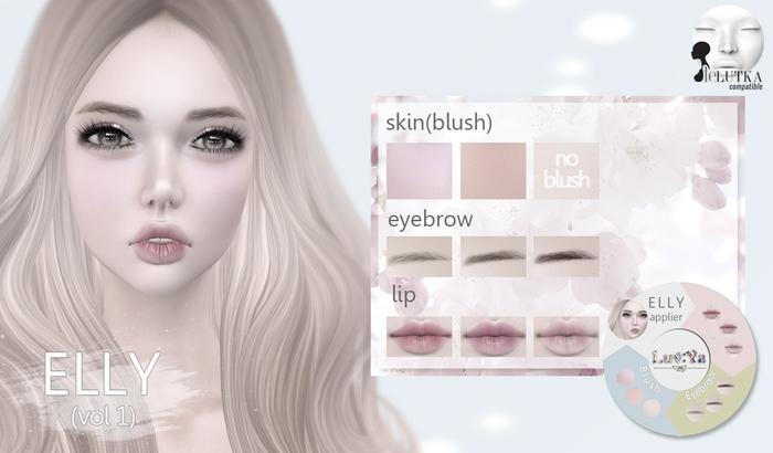 [Luv:Ya] ELLY skin DEMO (for Lelutka)
