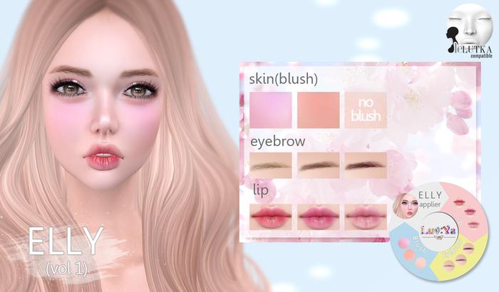 [Luv:Ya] ELLY skin applier (for Lelutka)