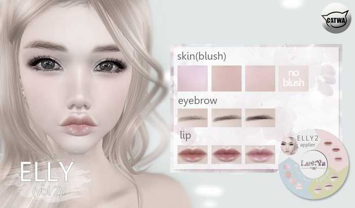 [Luv:Ya] ELLY2 skin DEMO (for catwa)
