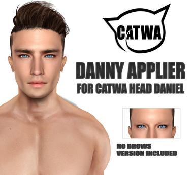 ::LV:. Danny Applier for Catwa Head Daniel