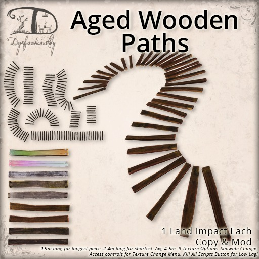 [DDD] Aged Wooden Paths