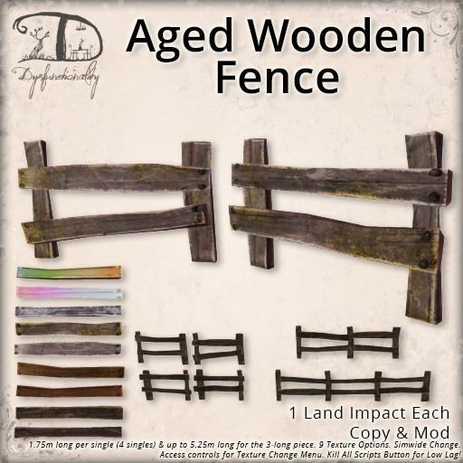 [DDD] Aged Wooden Fences