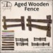 [DDD] Aged Wooden Fences