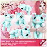 ~silentsparrow~ Sky - Bearoque! Bears <3 Teddy Bear <3 Toys Stuffed Animals Mesh