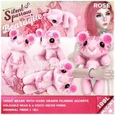 ~silentsparrow~ Rose - Bearoque! Bears <3 Teddy Bear <3 Toys Stuffed Animals Mesh