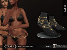 Zaara : Raksha anklet (maitreya-slink) *gold*