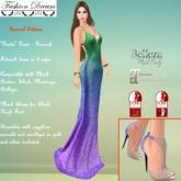 """""""Giada"""" Peacock Gown - Fashion Dream"""
