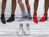 TF: ABC Ankle Sneaker Boots White