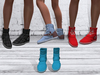 TF: ABC Ankle Sneaker Boots Skyblue