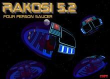 Rakosi 5.2 Saucer - Flying Space Craft Vehicle