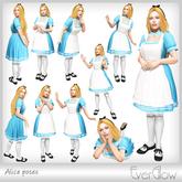 *EverGlow* - Alice poses