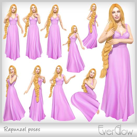 *EverGlow* - Rapunzel poses