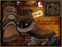 Steelhead Upcycled Cowboy Boots