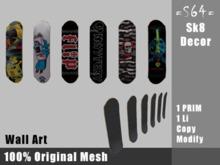 =TA= Skateboard Decor (box)