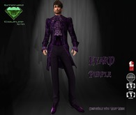 EC Evard Suit Purple [Mens]